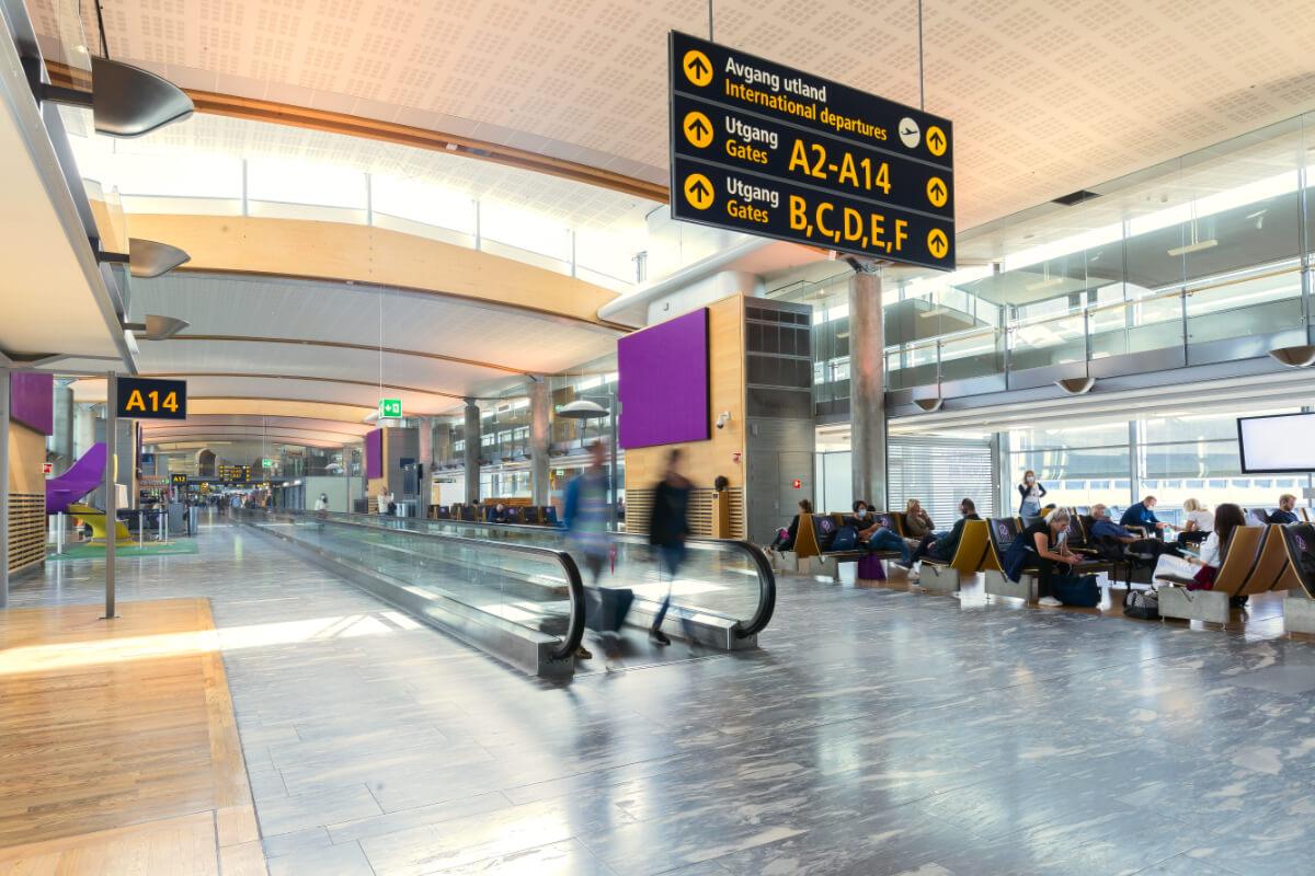 Oslo Lufthavn Gardermoen kart